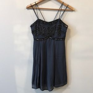 kimchi blue beaded cocktail dress